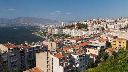 Izmir City in Aegean Coast of Turkey Stock Photo