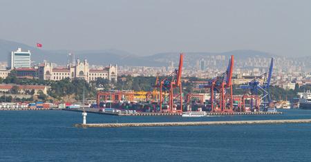 haydarpasa: Haydarpasa Port, Istanbul Stock Photo