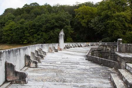 barrage: Old Barrage in Belgrad Forest, Istanbul, Turkey Editorial
