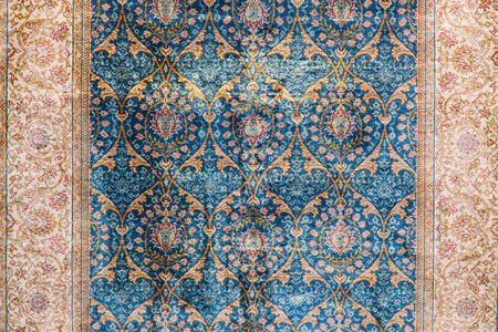 Detail of Turkish Carpet in Istanbul City