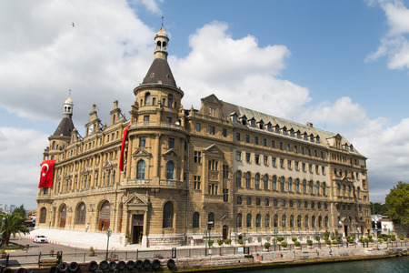 haydarpasa: Haydarpasa Train Station in Istanbul City, Turkey