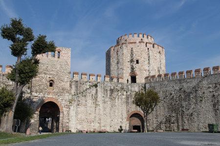 hisari: Yedikule Fortress in Fatih, Istanbul City, Turkey