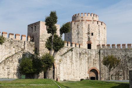 fatih: Yedikule Fortress in Fatih, Istanbul City, Turkey
