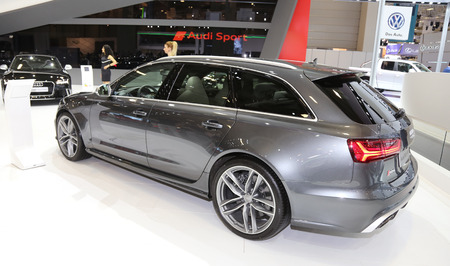 avant: ISTANBUL, TURKEY - MAY 21, 2015: Audi RS 6 Avant in Istanbul Autoshow 2015
