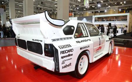 autoshow: ISTANBUL, TURKEY - MAY 21, 2015: Audi Quattro in Istanbul Autoshow 2015