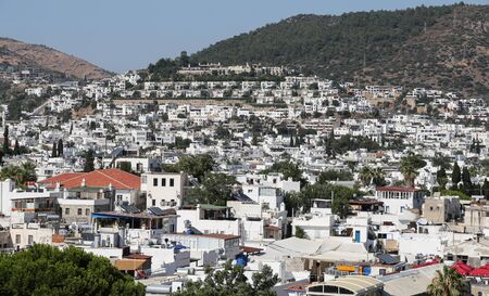 aegean: Bodrum Town in Aegean Coast of Turkey