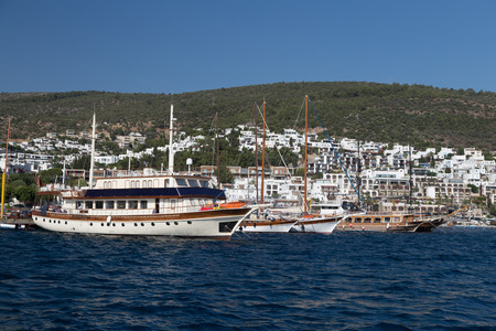 mugla: Tour Boats in Bodrum Port, Mugla City, Turkey