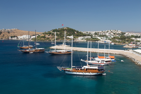 mugla: Bodrum Town in Mugla City, Aegean Turkey