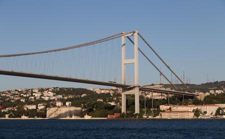 bogazici: Bosphorus Bridge Between Europe and Asia in Istanbul City, Turkey