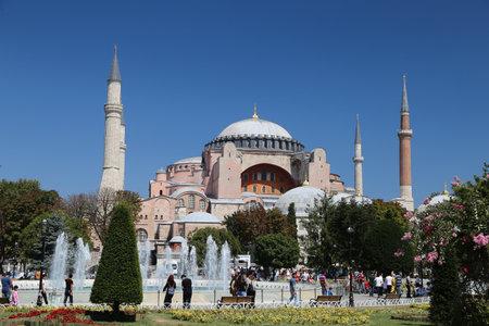 hagiasophia: Hagia Sophia in Istanbul City, Turkey