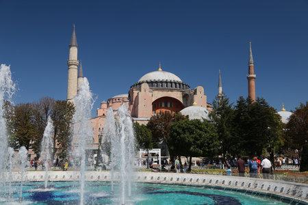 hagiasophia: Hagia Sophia museum in Istanbul City, Turkey