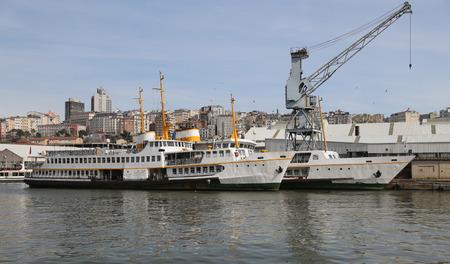 seaway: Two Ferries Waiting in Shipyard to Repare