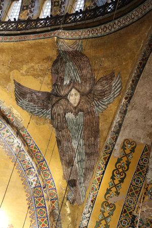byzantium: Hagia Sophia museum in Istanbul City, Turkey