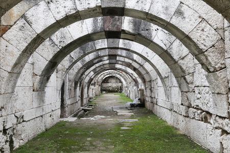 Agora of Smyrna in Izmir city, Turkey