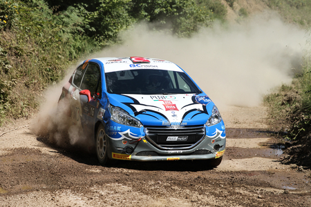 motorsport: KOCAELI, TURKEY - JUNE 12, 2016: Daghan Unludogan drives Peugeot 208 R2 of BC Vision Motorsport Team in Kocaeli Rally