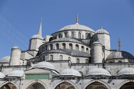 blue mosque: Sultanahmet Blue Mosque in Istanbul City, Turkey