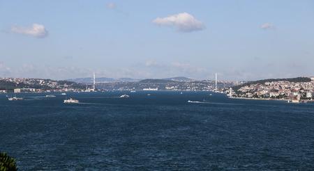 strait: Bosphorus Strait in Istanbul City, Turkey