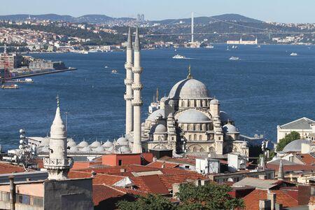 eminonu: Eminonu New Mosque in Istanbul City, Turkey