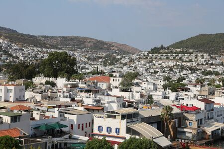 aegean: Bodrum Town in Aegean Coast of Mugla City, Turkey