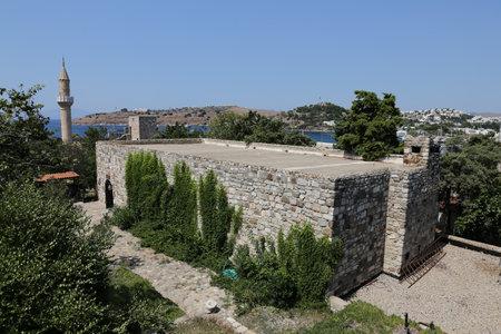 mugla: Building in Bodrum Castle, Mugla city, Turkey Editorial