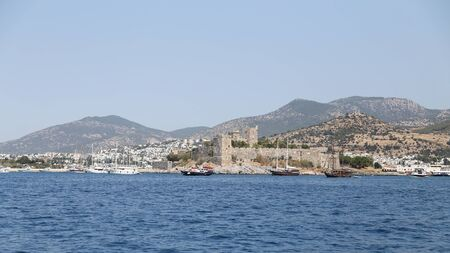 aegean: Bodrum Castle in Aegean Coast of Turkey