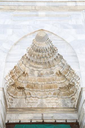seljuk: Entrance of Grand Mosque of Bursa in Turkey Stock Photo