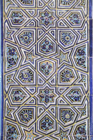 Blue Tile in Green Tomb, Bursa City, Turkey