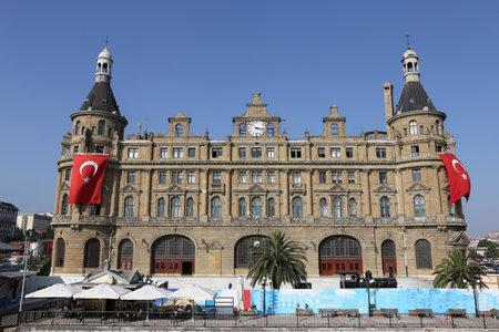 Haydarpasa Train Station in Istanbul City, Turkey