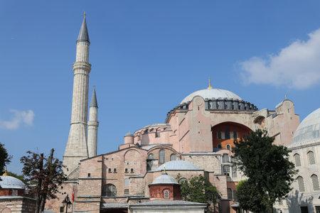 sophia: Hagia Sophia museum in Istanbul City, Turkey