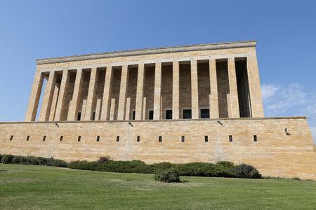 mustafa: Anitkabir mausoleum of Mustafa Kemal Ataturk in Ankara, Turkey