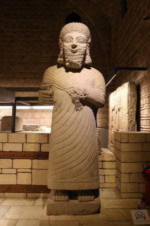 sculp: Sculpture in Museum of Anatolian Civilizations, Ankara, Turkey