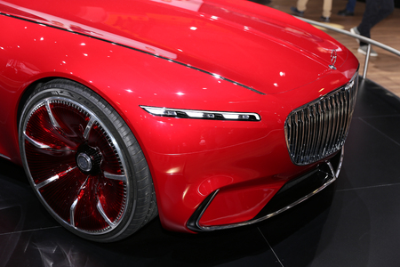 ISTANBUL, TURKEY - APRIL 22, 2017: Vision Mercedes Maybach 6 on display at Autoshow Istanbul Stock Photo - 78040107