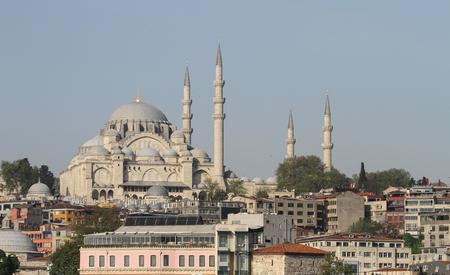 Suleymaniye Mosque in Fatih, Istanbul City, Turkey