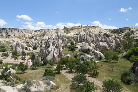 Swords valley in Cappadocia, Nevsehir City, Turkey