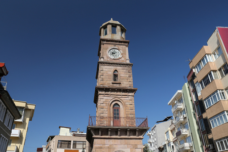 Canakkale Clock Tower in Canakkale City, Turkey