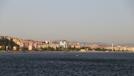Canakkale City and Canakkale Strait in Turkey