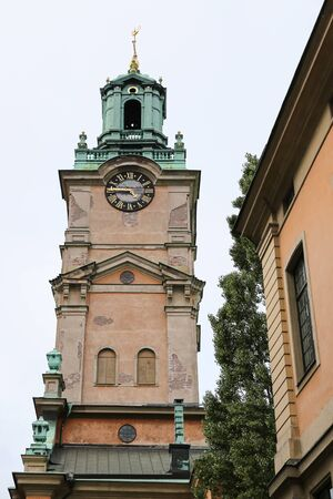 Storkyrkan, Cathedral of St Nicholas in Stockholm City, Sweden Stock Photo