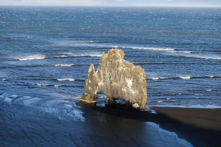 Hvitserkur Rock in Coast of North Iceland