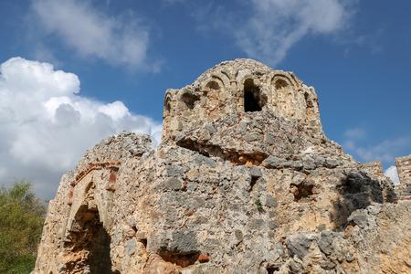Old Church in Alanya Castle, Alanya, Antalya City, Turkey