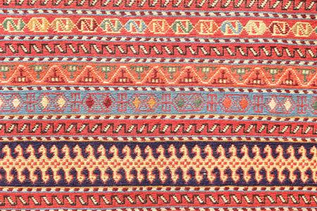 Detail of Turkish Carpet in Istanbul, Turkey