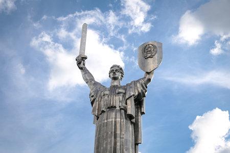 Motherland Monument, Rodina Mat in Kiev City, Ukraine
