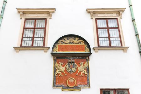 Building in Hofburg Palace, Vienna City, Austria