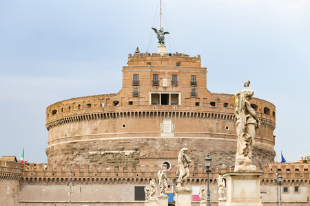 Mausoleum of Hadrian - Castel Sant Angelo in Rome City, Italy