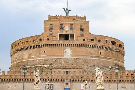 Mausoleum of Hadrian - Castel Sant Angelo in Rome City, Italy