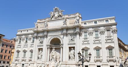 Trevi Fountain, Fontana di Trevi in Rome City, Italy