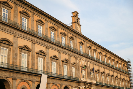 Royal Palace of Naples City in Italy