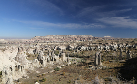 Cappadocia View from Love Valley in Nevsehir City, Turkey Imagens