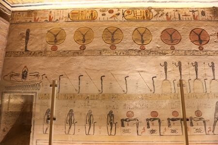 Tomb in Valley of the Kings, Luxor City, Egypt 写真素材