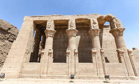 Building in Edfu Temple, Edfu Town, Egypt