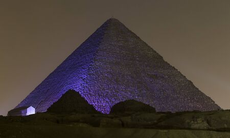 Great Pyramid of Giza in Cairo City, Egypt